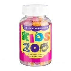 Kids Zoo Kalk + D Gelé Kanin