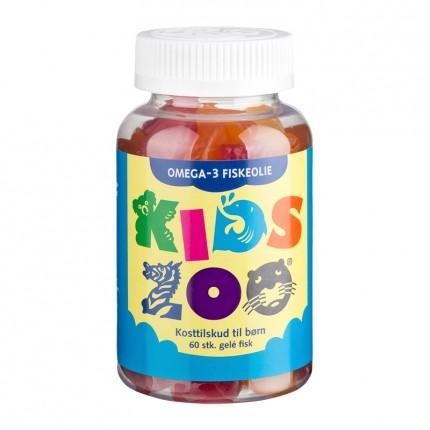 Kids Zoo Omega-3 Gelé Fisk