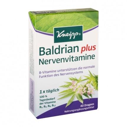 Kneipp Baldrian plus Nervenvitamine (40 Dragees)