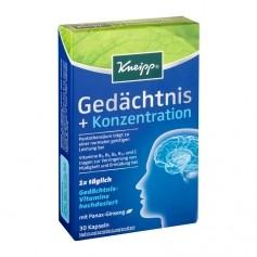 Kneipp Gedächtnis + Konzentration, Kapseln