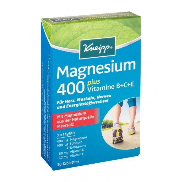 kneipp magnesium 400 tabletten hier bei nu3 kaufen. Black Bedroom Furniture Sets. Home Design Ideas