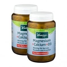 Kneipp Magnesium + Calcium + D3 Doppelpack, Tabletten