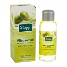 Kneipp Naturkosmetik Zitronengras & Olive Pflegeölbad