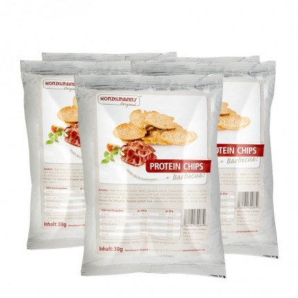 5 x Konzelmann's Original Protein Chips Barbecue