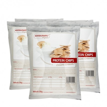 5 x Konzelmann's Original Protein Chips Onion Cream