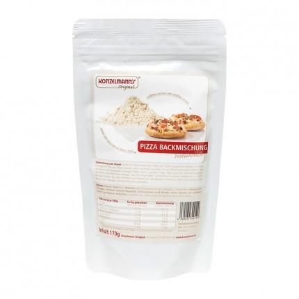 Konzelmann's Low Carb Pizza Backmischung Doppelpack