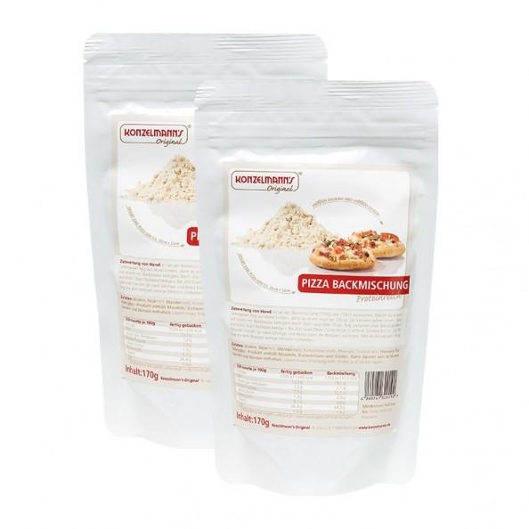 Konzelmann's Low Carb Pizza Backmischung Doppelpack
