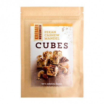 Krebaer Nusswerk Pecan Cashew Almond Cubes