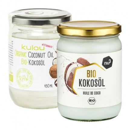 nu3 Bio Kokosöl + Kulau Gourmet Bio-Kokosöl