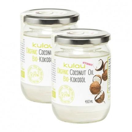 2 x Kulau Gourmet Bio-Kokosöl