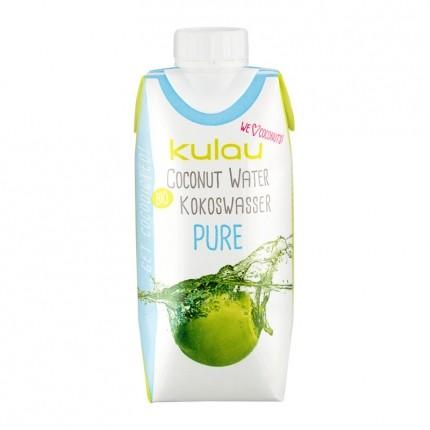 3 x Kulau Kokoswasser Pure Coconut