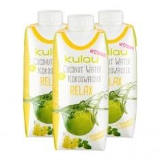 3 x Kulau Kokoswasser Relax