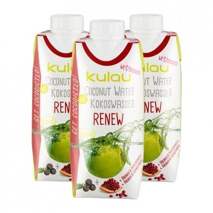 3 x Kulau Kokoswasser Renew