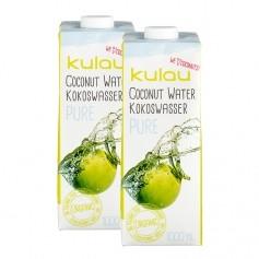 Kulau Bio-Kokosnusswasser Pure, Doppelpack