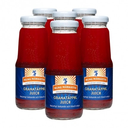6 x Kung Markatta Granatäpplejuice