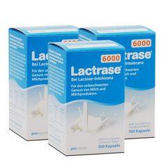 3 x Lactrase 6000 Kapseln