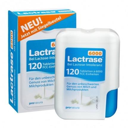 Lactrase 6000 Klickspender, Tabletten