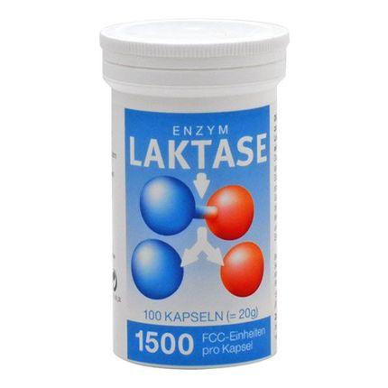Laktase 1500 FCC Enzym Kapseln