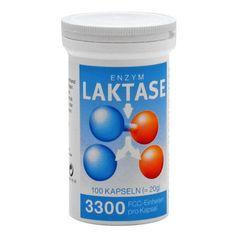 Laktase 3300 FCC Enzym Kapseln