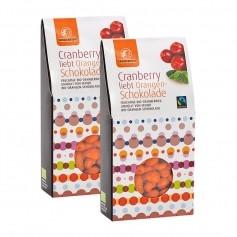 Landgarten Cranberrys in Orangenschokolade Doppelpack