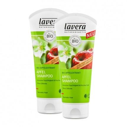 Lavera Apfel-Shampoo für normales Haar