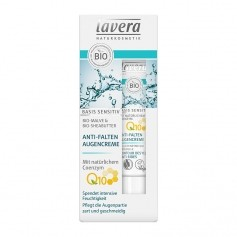 Lavera basis sensitiv ANTI-FALTEN AUGENCREME mit Coenzym Q10