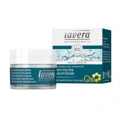 Lavera basis sensitiv ANTI-FALTEN NACHTCREME mit Coenzym Q10