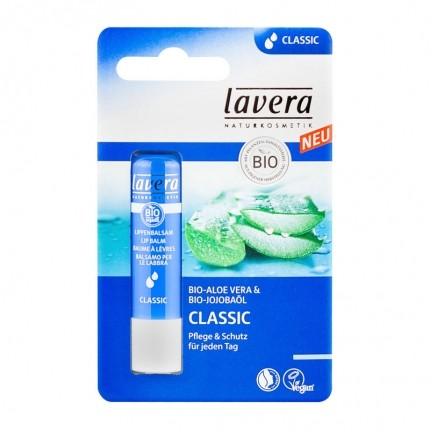 Lavera, Baume à lèvres classic bio, aloe vera