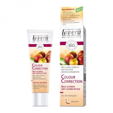 Lavera Colour Correction Cream 8 in 1 getönte Anti-Ageing Pflege