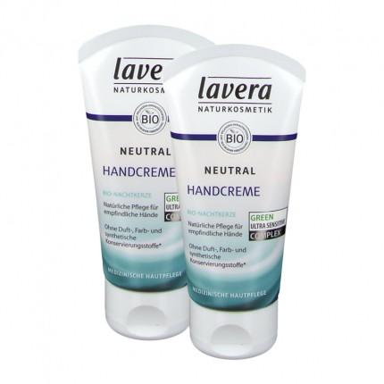 Lavera Neutral Handcreme mit Nachtkerzenöl und Sheabutter Doppelpack