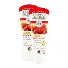 2 x Lavera Regenerierende Handcreme Bio-Cranberry & Bio-Arganöl