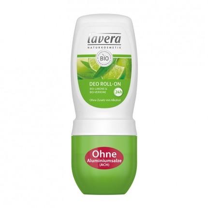 Lavera Deo Roll-On, Limone-Verveine (50 ml)
