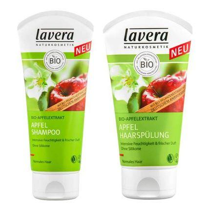Lavera Haarpflege-Set Apfel