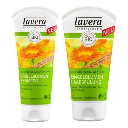 Lavera Haarpflege-Set Ringelblumen