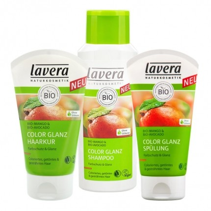 Lavera Hair PRO Color Glanz Haarpflege-Set
