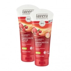 Lavera Hair PRO Color Glanz Spülung Doppelpack