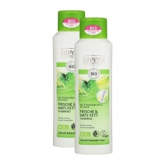 Lavera Hair PRO Anti-Fett Shampoo Doppelpack