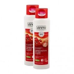 Lavera, Hair pro shampooing éclat couleur, lot de 2