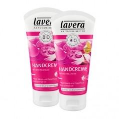 Lavera Rose Garden Handcreme mit Bio-Wildrose Doppelpack