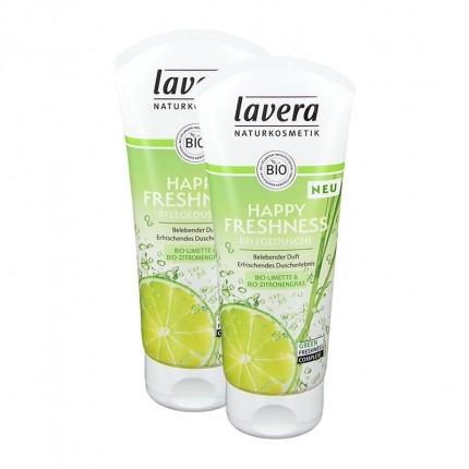 Lavera Lime Sensation Duschgel mit Eisenkraut und Limone Doppelpack