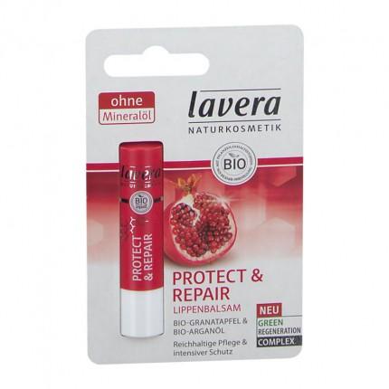 3 x Lavera Repair Lippenbalsam mit Bio-Granatapfel