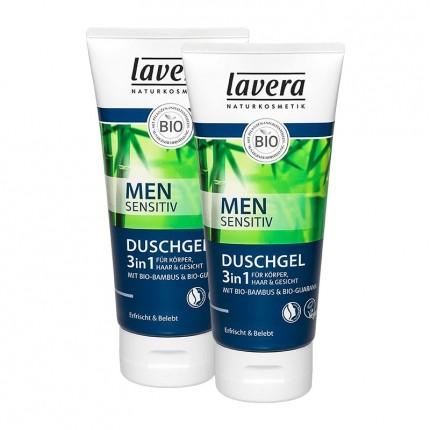 Lavera Men Sensitiv 2in1 Dusch-Shampoo Doppelpack