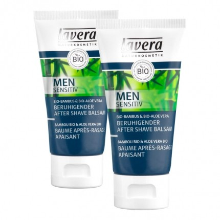 Lavera Men Sensitiv Beruhigender After Shave Balsam Doppelpack