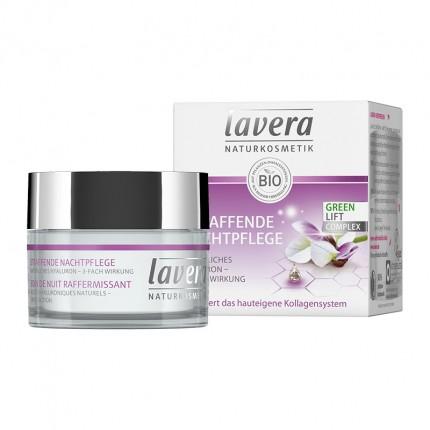 Lavera My Age regenererende nattpleie med hvit te og karanjaolje