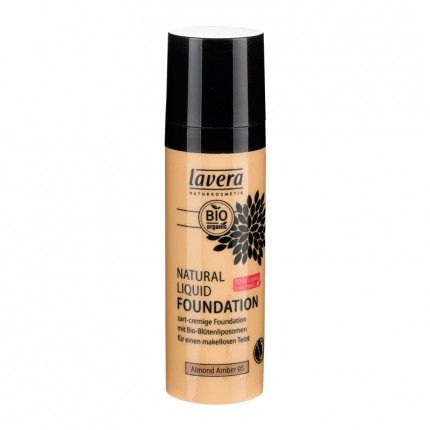 Natural Liquid Foundation, Almond Amber 05 (30 ml)