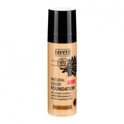 Natural Liquid Foundation, Almond Caramel 06 (30 ml)
