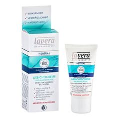 Lavera neutral ansiktskräm med nattljusolja och jojoba
