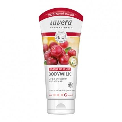 Regenerierende Bodymilk, Cranberry & Arganöl (200 ml)
