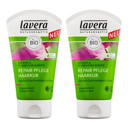 lavera hair pro repair pflege haarkur doppelpack bei nu3. Black Bedroom Furniture Sets. Home Design Ideas