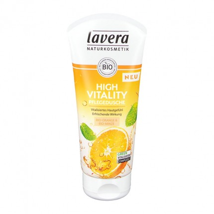 Lavera Orange Feeling badegel med appelsin og havtorn